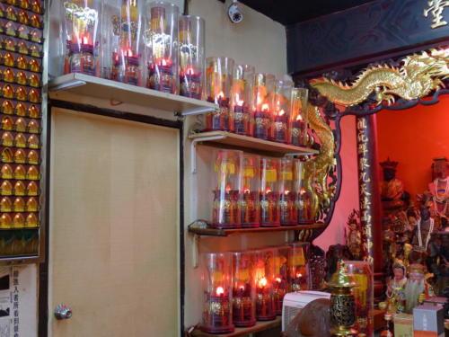 台北無極慈善堂點燈區