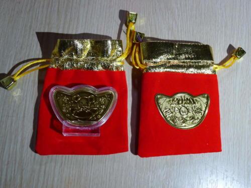 2個春節發財金紅包袋1